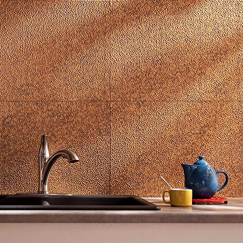 ACP Fasade Easy Installation Hammered Cracked Copper Back...