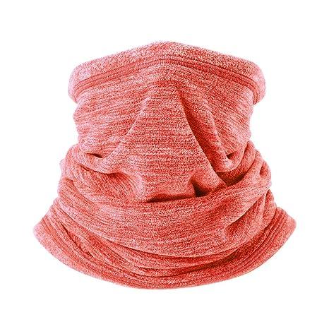 a0807b23bbfe Arcweg Cache-Cou Tubulaire d hiver en Tissu Polaire Unisexe écharpe de Cou  Coupe