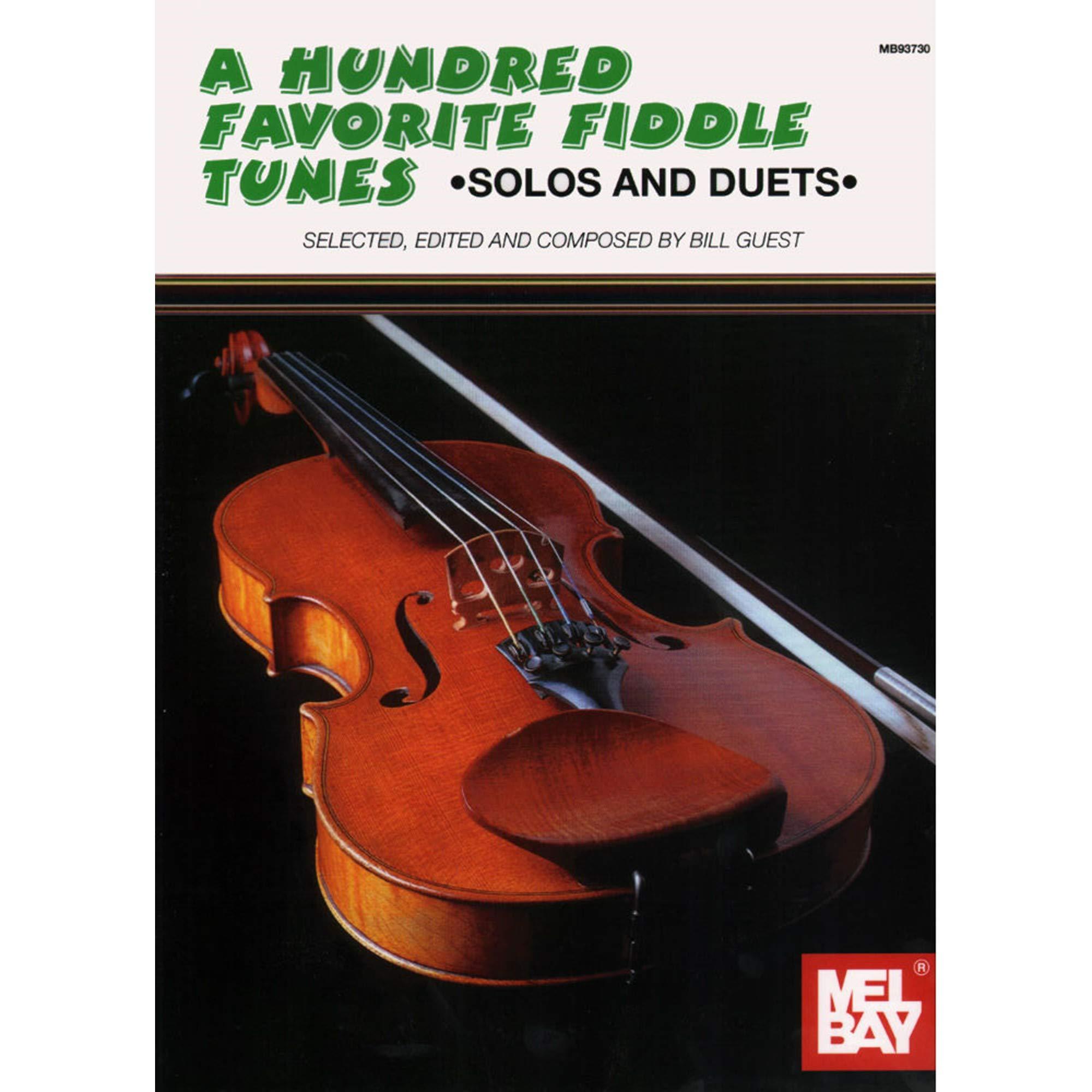 Amazon com: Guest, Bill - A Hundred Favorite Fiddle Tunes - Violin