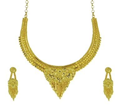278d19e51dc2e Buy Kalyani Covering Necklace Set Online at Low Prices in India ...