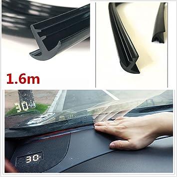 Automotive windshield anti glare strip