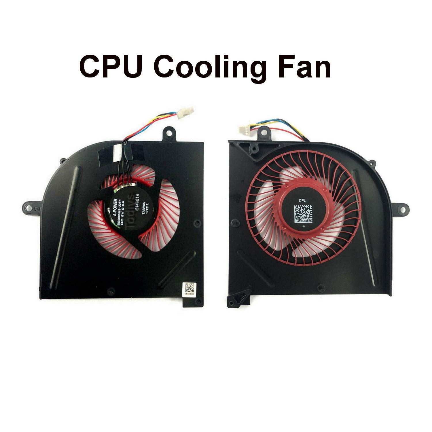Ventilador CPU MSI GS73VR 7RE 7RF Stealth Pro Series 7RE-003CA 7