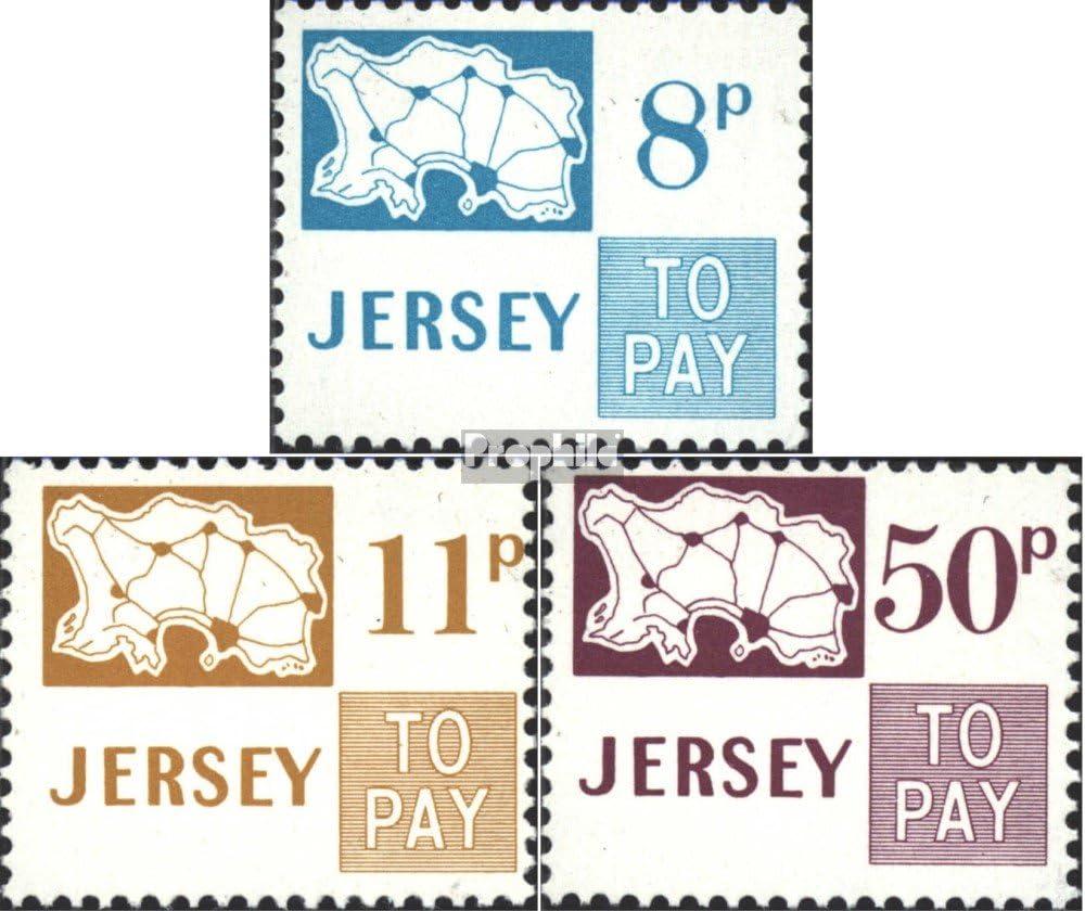 Prophila Collection Gran Bretaña - Jersey Michel.-No..: p18-p20 (Completa.edición.) 1975 Los Sellos de Correos (Sellos para los coleccionistas): Amazon.es: Juguetes y juegos