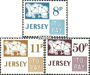 Prophila Collection Gran Bretaña - Jersey Michel.-No..: p18-p20 ...