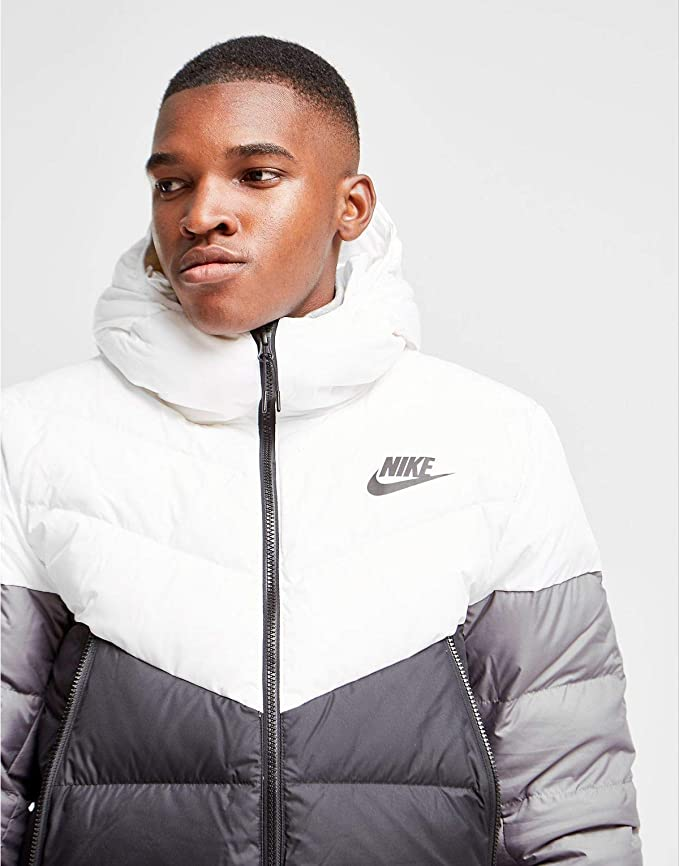 a979f2dc0c35 Nike Sportswear Windrunner Down Fill Men s Hooded Jacket at Amazon Men s  Clothing store
