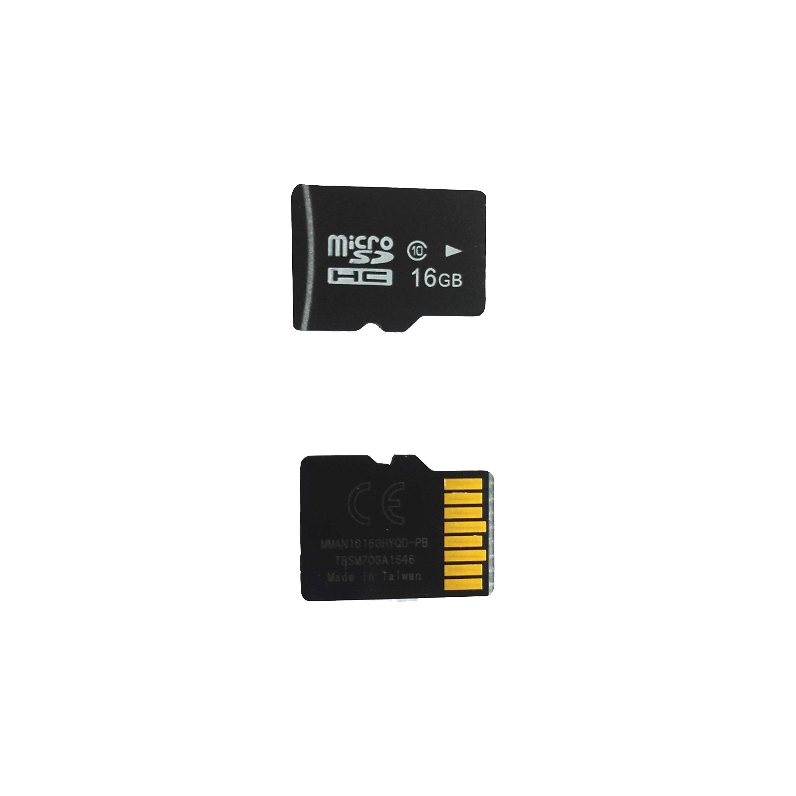 MATECam Memory Card SD Card 16GB 16G Micro SDHC Class10 TF Memory Card