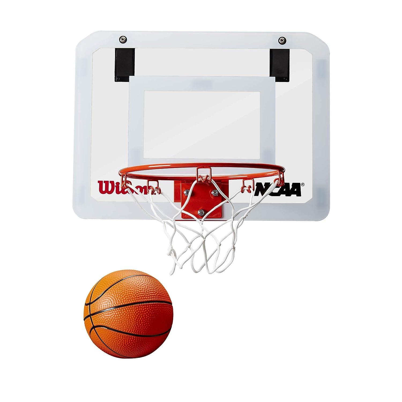 WILSON Showcase NCAA Ensemble Mini Anneaux de Basketball