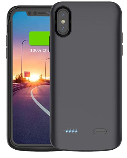 new product 645b4 ea503 iPhone Xs Max Battery Case,Vocalol 6000mAh Portable: Amazon.in ...