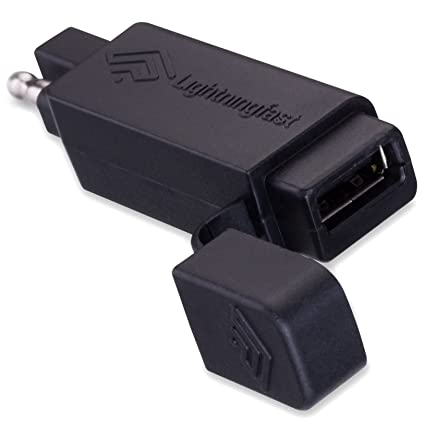 sae to usb adapter - motorcycle quick disconnect plug - cell phone charger  works with apple