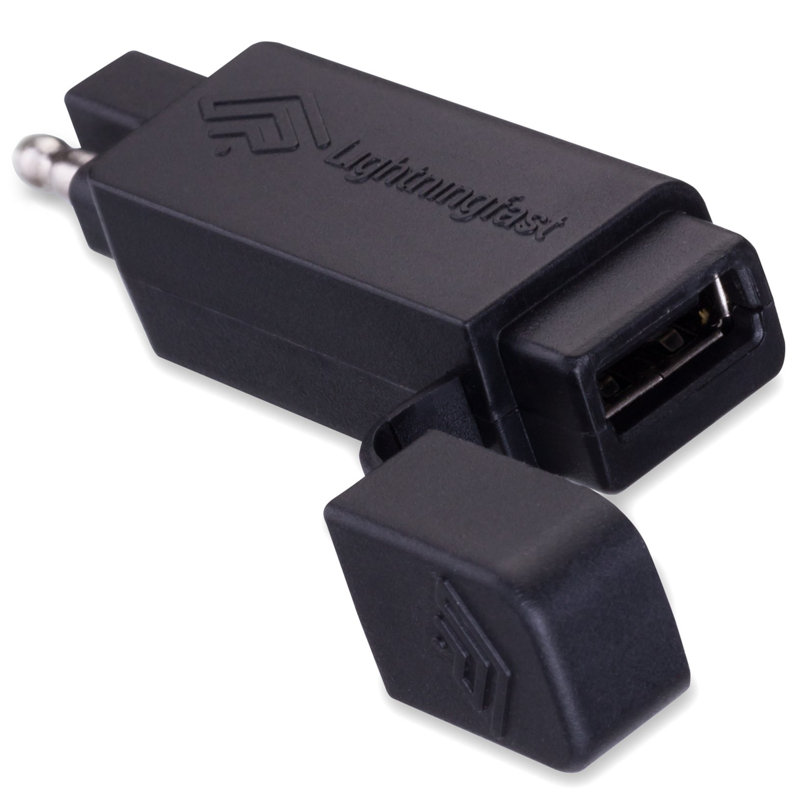 Sae To Usb Wiring Motorcycle Adapter Quick Disconnect Plug Cell Phone Charger Works With Apple