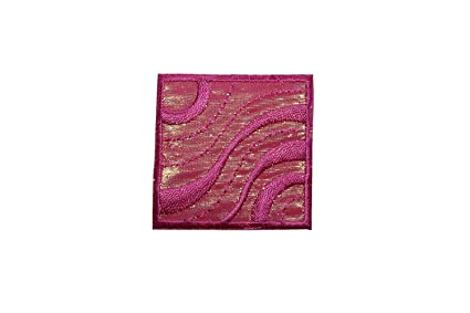 Amazon.com: id 8340 shiny pink waves badge patch craft emblem