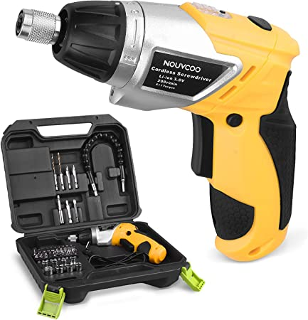 Amazon.com: NOUVCOO Kit de destornillador eléctrico ...