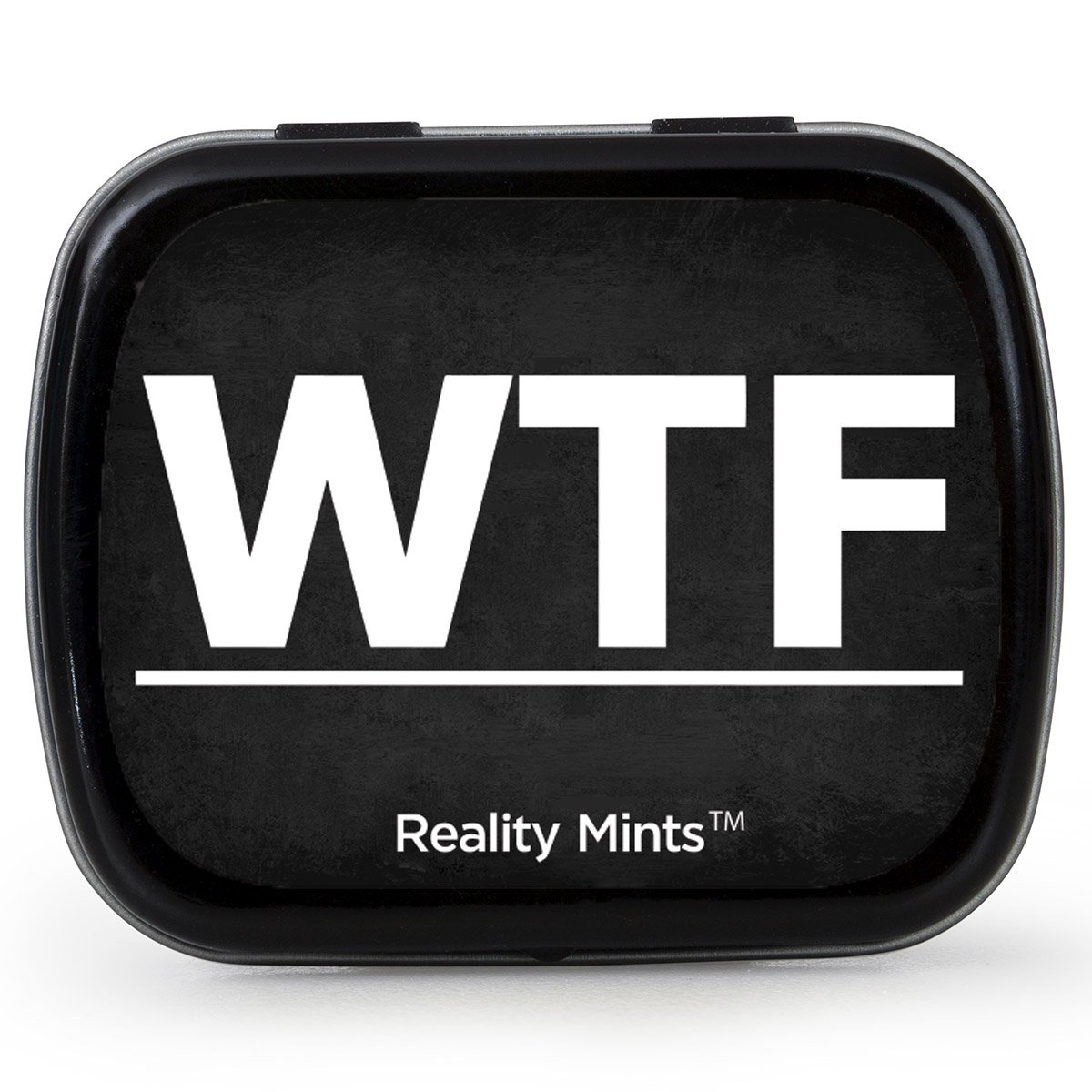 WTF Mints – WTF design mint tin – Novelty candy for friends – Wintergreen breath mints, sugar-free
