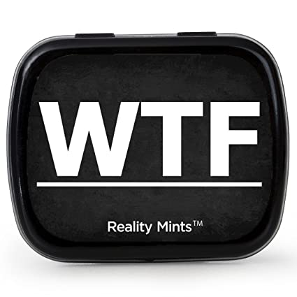 Amazon wtf mints cool gift for friends easter basket for wtf mints cool gift for friends easter basket for adult stocking stuffers best friend novelty negle Images