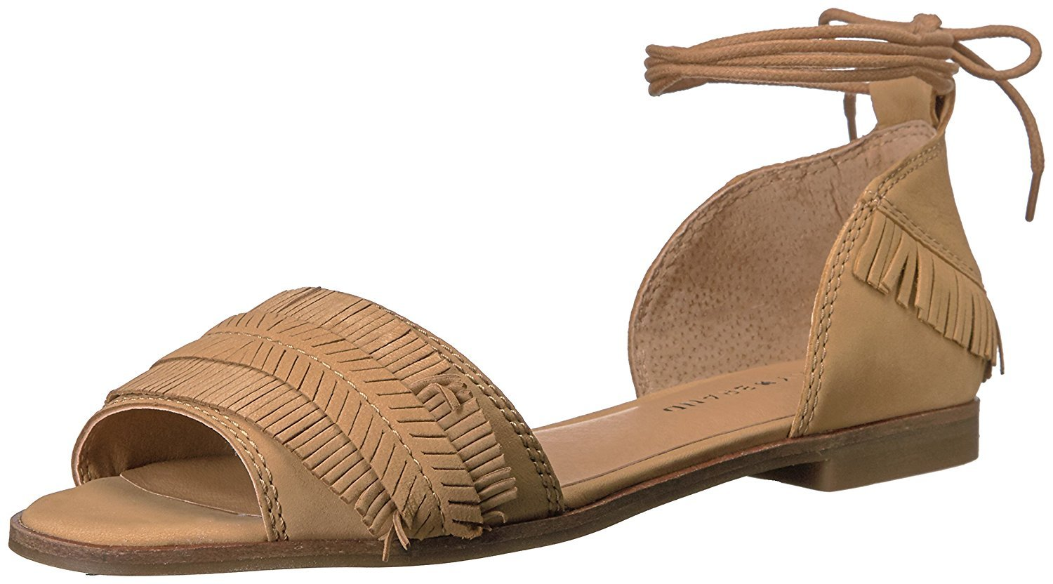 Lucky Brand Women's Gelso Sandal, Sandbox, 8 Medium US