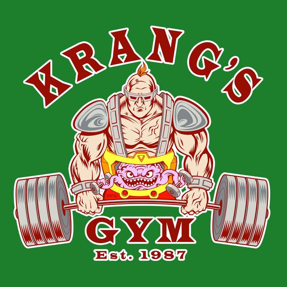 Krangs Gym est 1987 Teenage Mutant Ninja Turtles Womens ...