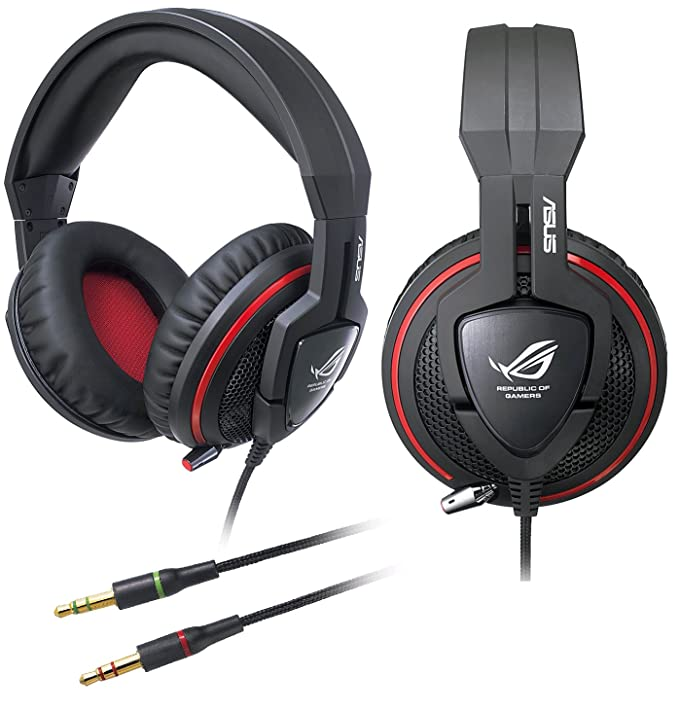 ASUS ROG Orion Gaming Headset with Big 50 mm Drivers for  PC PS4 Xbox Mac Mobile Devices  Amazon.co.uk  Computers   Accessories 7eaf1d690b18