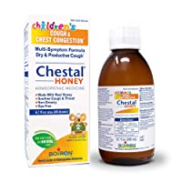 Boiron Children's Chestal Honey Cough Syrup, 6.7 Ounce, Homeopathic Medicine for...