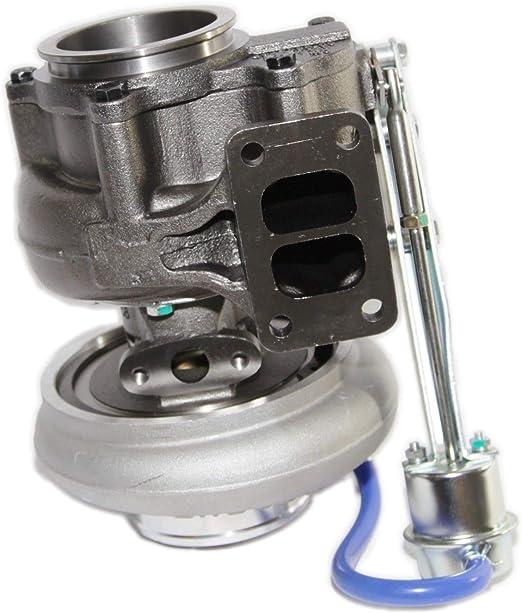 "HX40W 3538232 Turbo for Dodge RAM 4/"" Exhaust Downpipe Flange T3 Twinscroll 6CTAA"