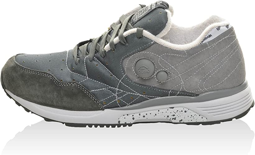 REEBOK Zapatillas GS Pump Running Dua Gris EU 40.5 (US 8): Amazon.es: Zapatos y complementos