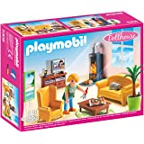 Playmobil 5308 Dollhouse Living Room with Fireplace