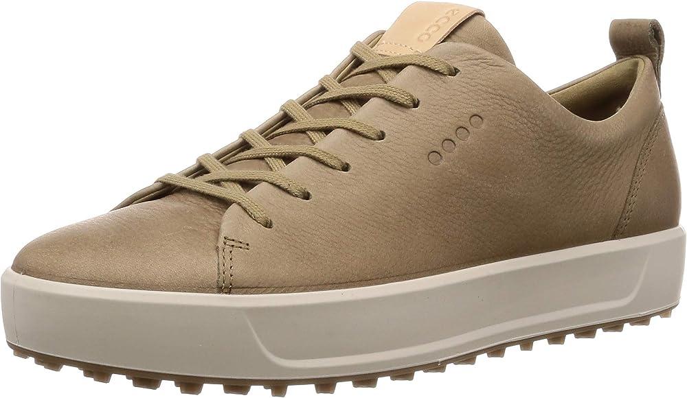 ECCO Men's Soft Golf Shoes, Brown