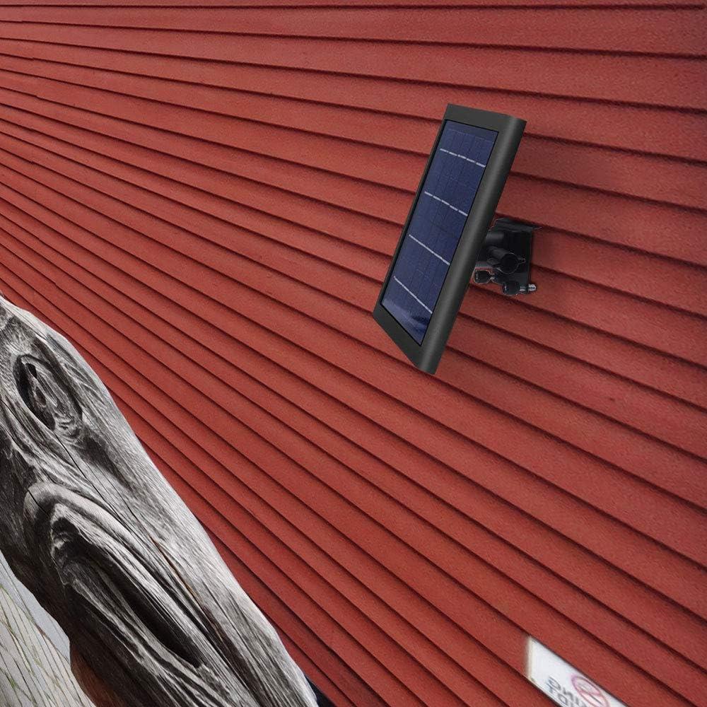 Vinyl Siding Clips Hook for Ring Solar Panel Mount for Ring Solar Panel Placing Solar Panel Further for Maximum Sunlight Exposure Black