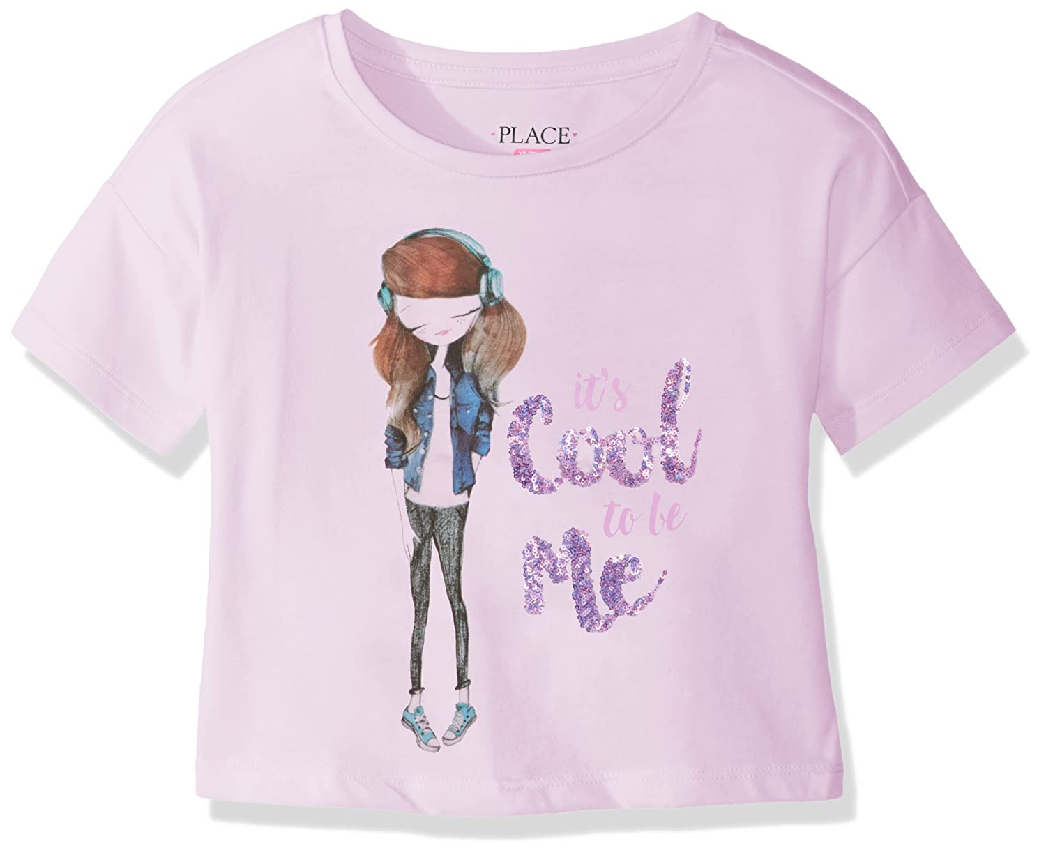 The Children's Place Girls' Short Sleeve Top 2063638