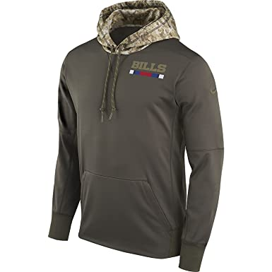 Nike Men s Buffalo Bills STS Pullover Therma Hoodie Graumelange lila Size  Small 8316004e0
