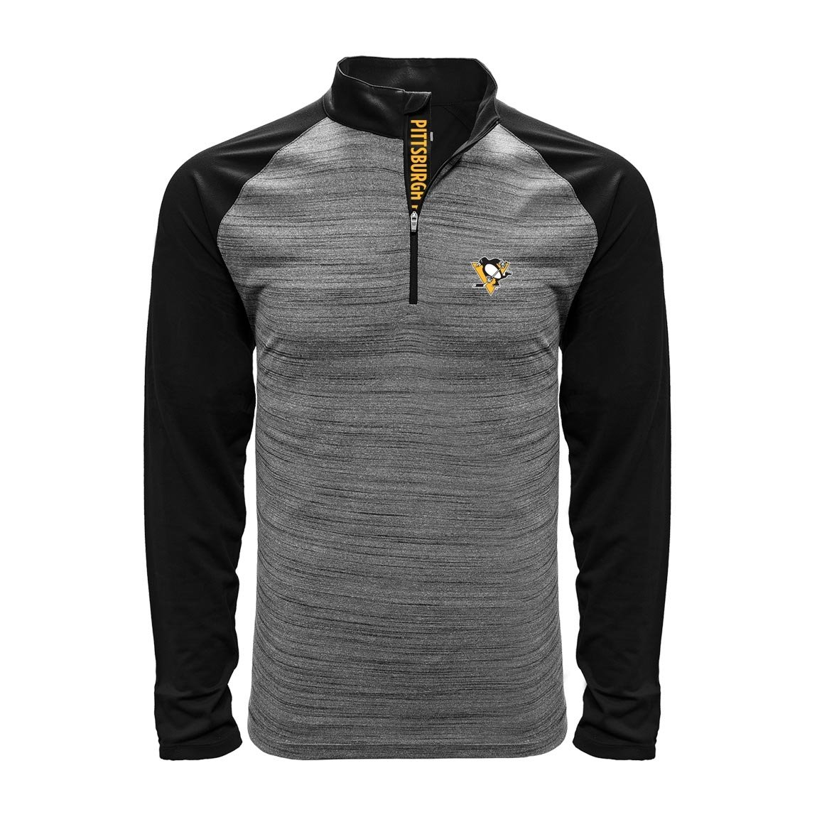 Levelwear Pittsburgh Penguins Vandal 1/4 Zip NHL Shirt