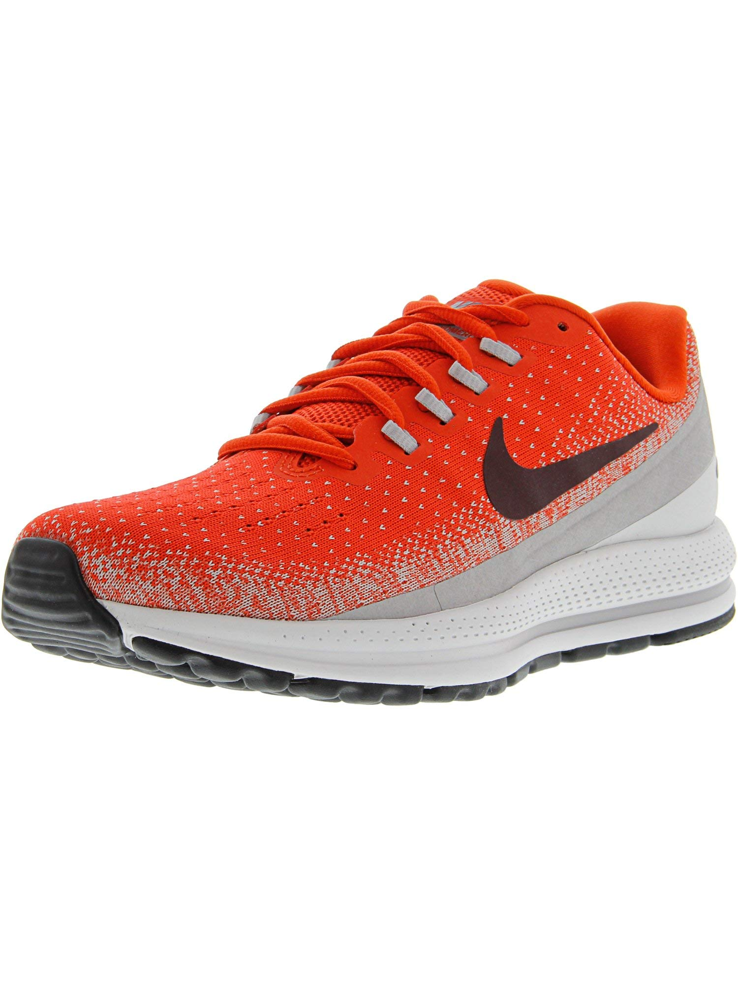 18338e1f43676 Galleon - Nike Men s Air Zoom Vomero 13 Habanero Red Deep Burgundy  Ankle-High Fabric Running Shoe - 8M