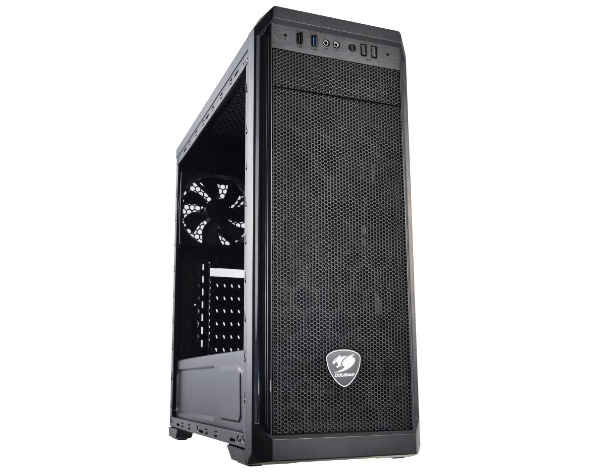 Cougar MX330 Mid Tower Case with Full Acrylic Transparent Window by COUGAR