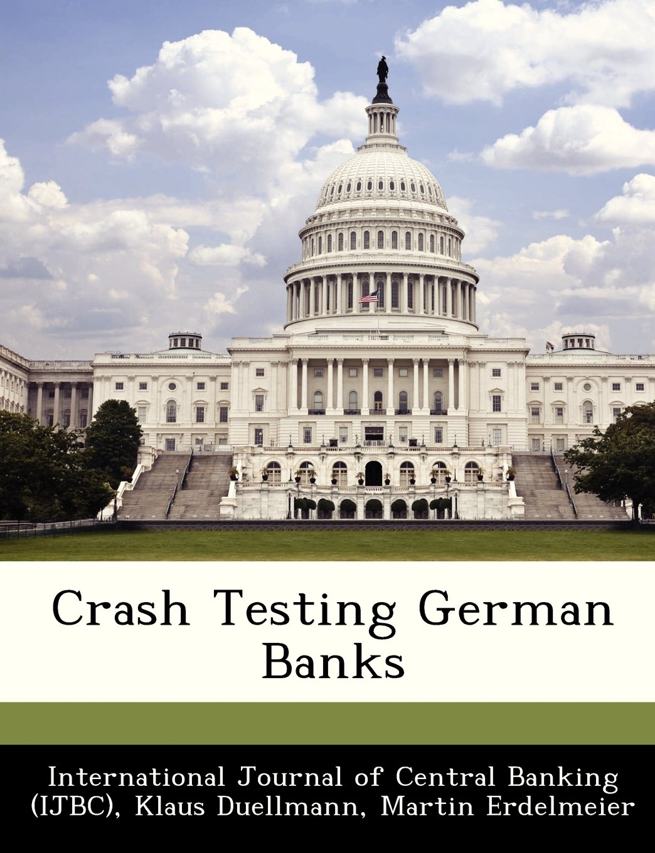 Read Online Crash Testing German Banks PDF