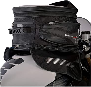 OXFORD Motorcycle M40R Lifetime Tank Bag Magnetic WP 40/ Litres UK Seller