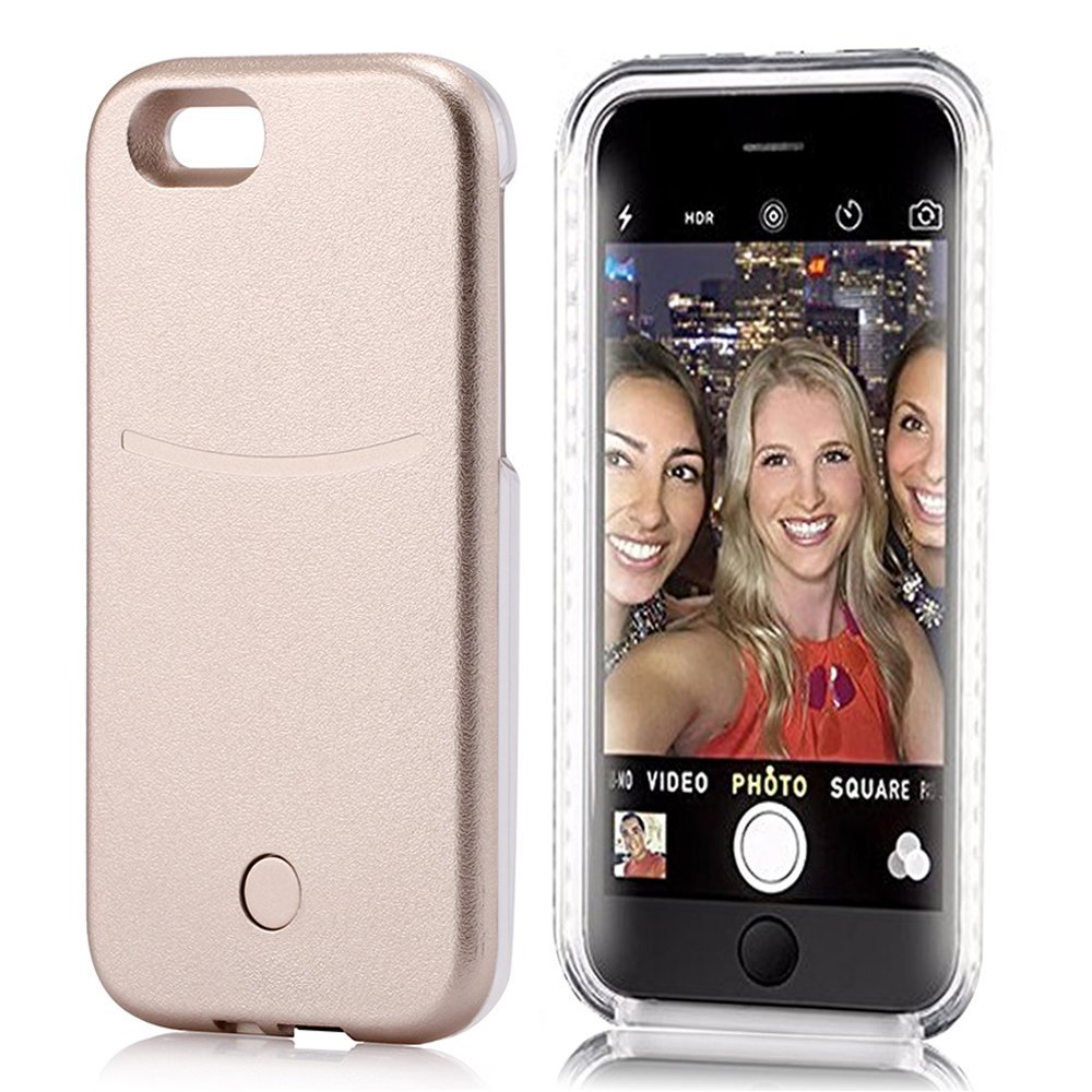 Iphone 6 Case Elftear Led Light Up Selfie Phone Case Luminous Back Cover For .. 18