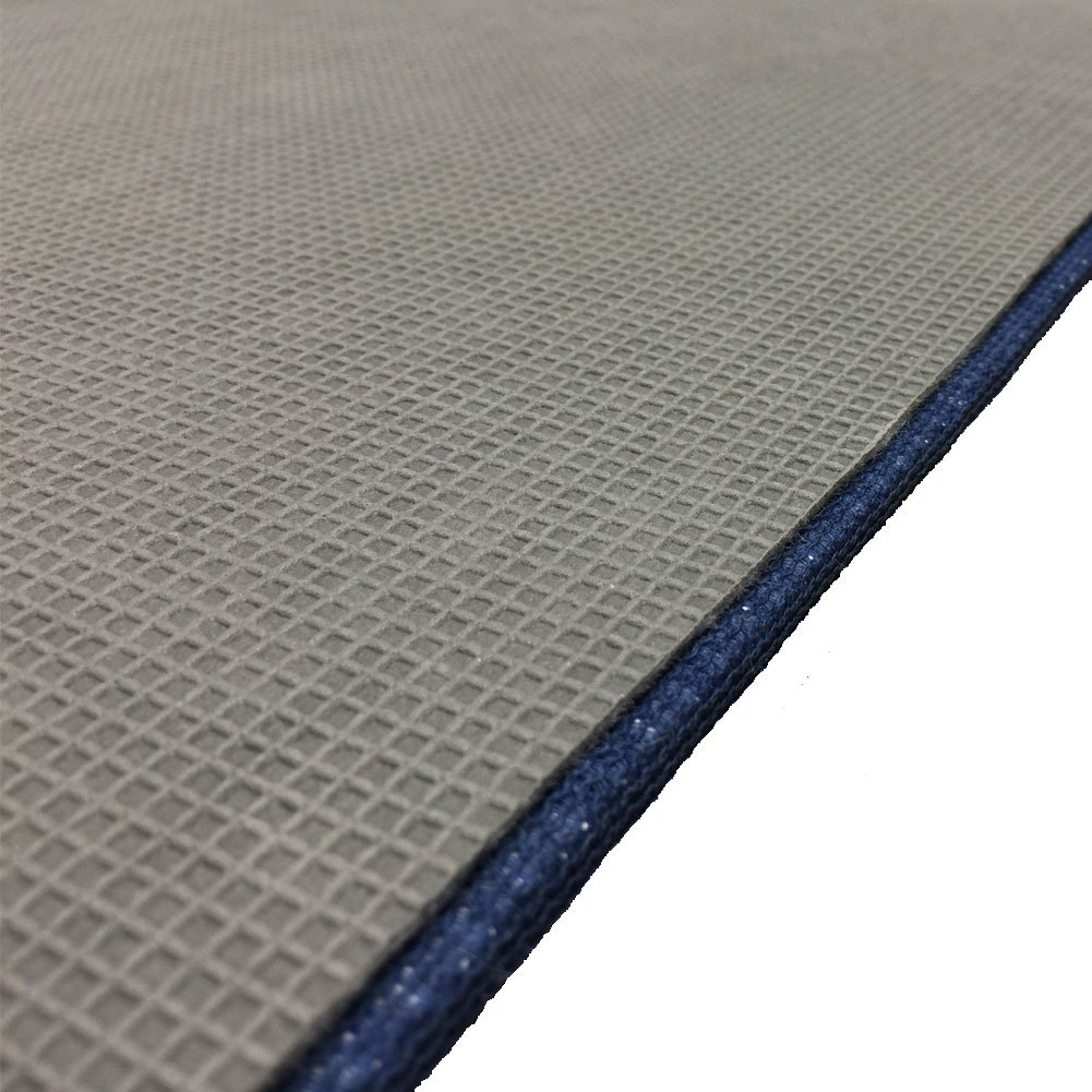 Anchor Mat, Welcome Aboard Mat and Boarding Mats, Carpet with Rubber Backing, 27'' x 18'' (Anchor, Blue)