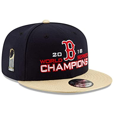 another chance 31ba7 62392 Image Unavailable. Image not available for. Color  New Era Boston Red Sox  2018 MLB World Series Champions Golden 9FIFTY Snapback Hat Cap –