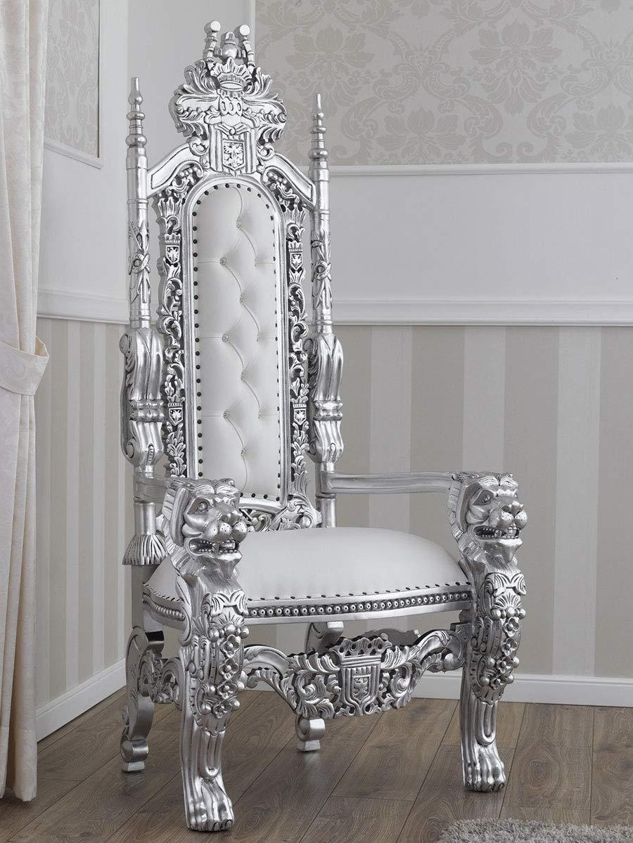 Remarkable Simone Guarracino Throne Lion Modern Baroque Style Royal Inzonedesignstudio Interior Chair Design Inzonedesignstudiocom