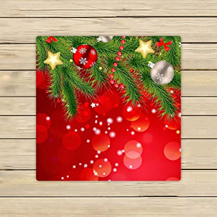 Toallas de baño, toalla de baño cuerpo ducha, Custom feliz Navidad Patrón playa/