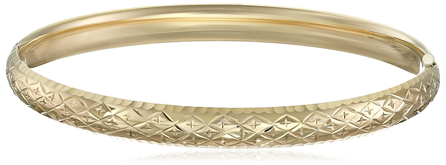 princess bangle bangles diamond bracelets yellow shake karat bracelet solid gold