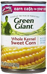Green Giant Sweet Corn - Whole Kernel - 15 oz