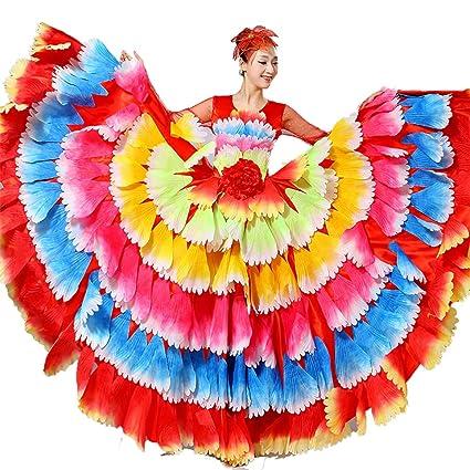 ZYLL Faldas Grandes de Danza del Vientre, Falda de Baile ...