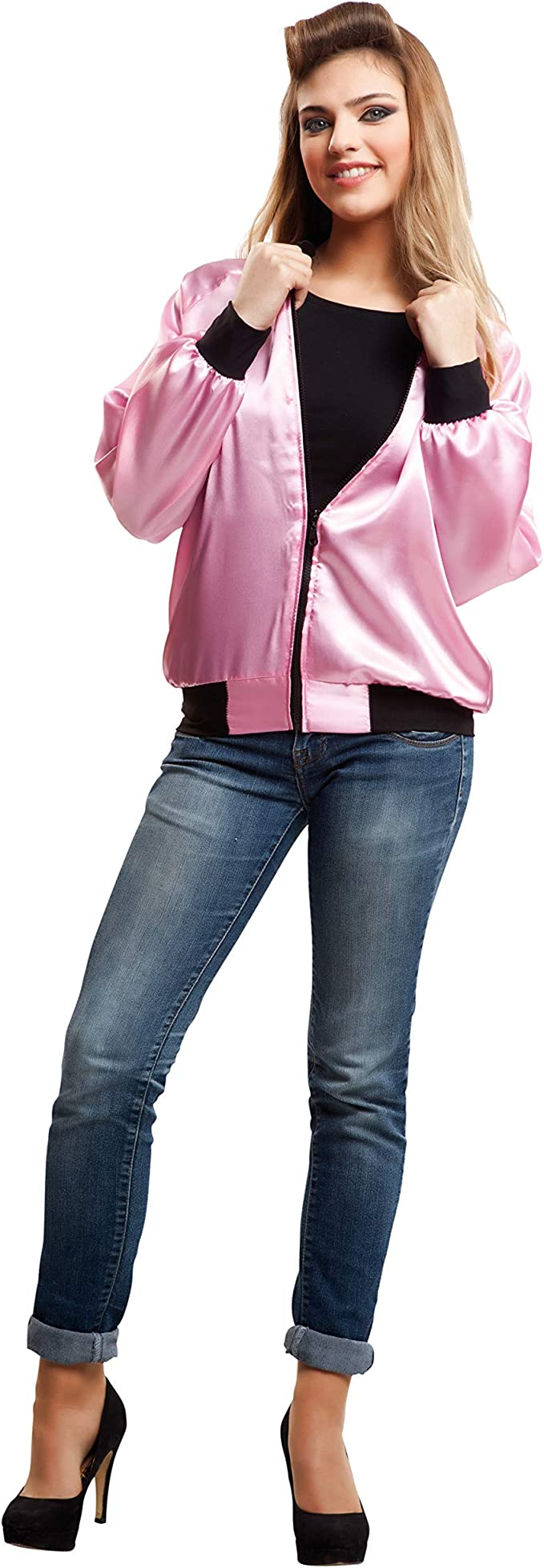 My Other Me Me-203358 Disfraz Pink Lady para mujer, M-L (Viving ...