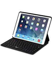 Keyboard Case for iPad Pro 10.5, EC Technology Ultra-Slim Lightweight Wireless Bluetooth Keyboards Magnetically Intelligent Switch and Multi-Angle Stand Compatible with iPad Pro 10.5/ New iPad Air 3