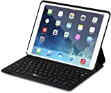 iPad Pro 10.5 Keyboard Case, EC Technology Ultra-Slim Lightweight Wireless Bluetooth Keyboards with Magnetically Intelligent Switch and Multi-Angle Stand Compatible with iPad Pro 10.5 inch 2017 Tablet