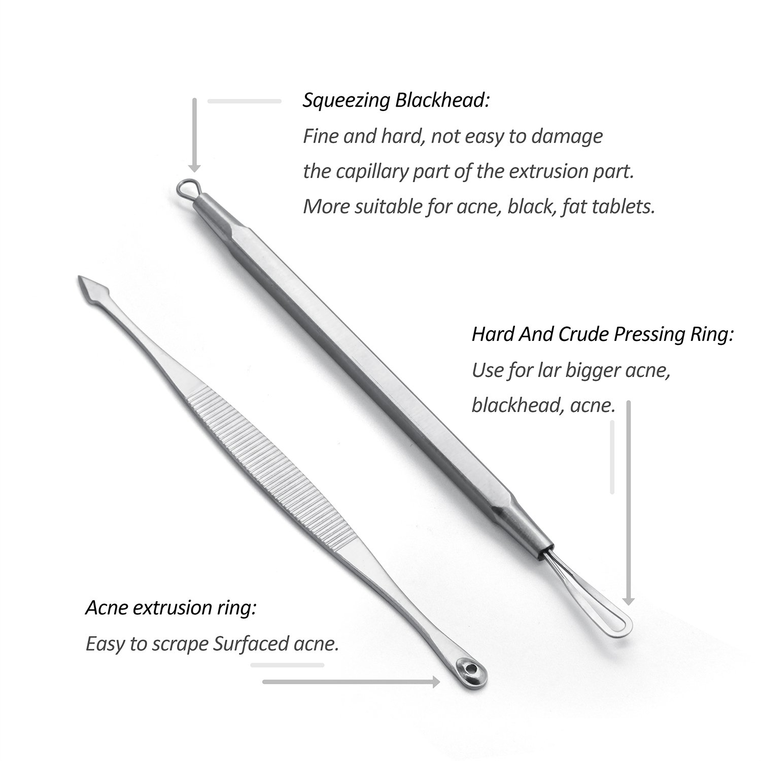 Blackhead Remover Removal Tweezers Cleaning Image 3