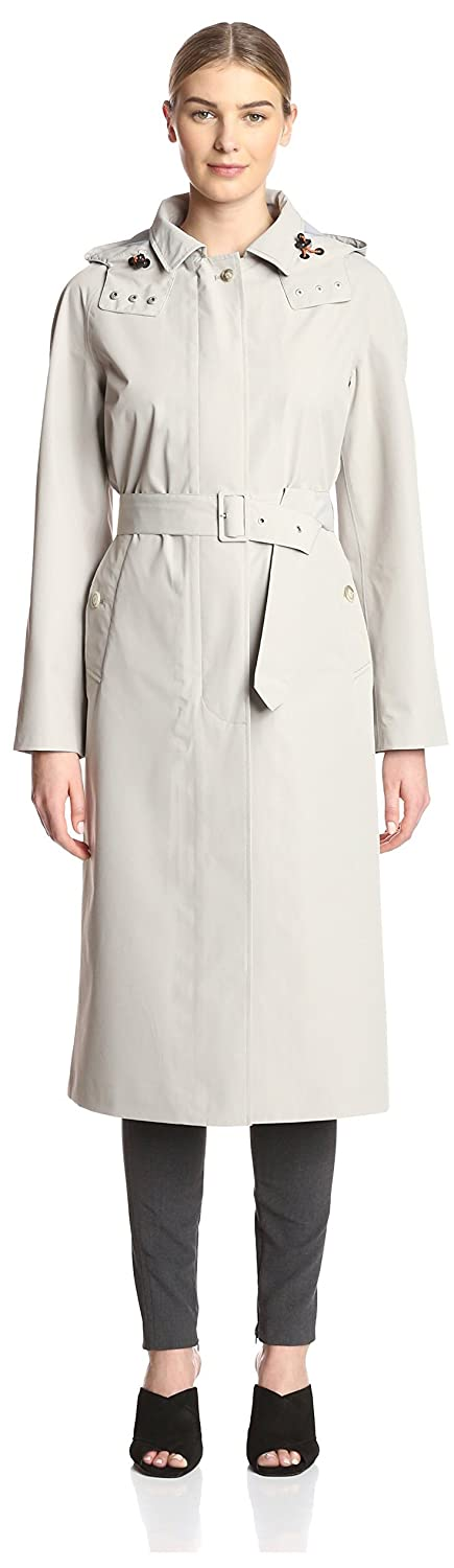 Sand Beige Save The Duck Women's Rainy Trench
