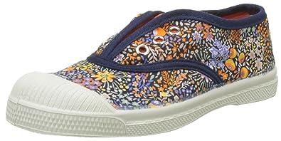 d495728bcd8644 Bensimon Girls' Elly Liberty Enfant Low-Top Sneakers, Orange, 7 UK ...