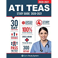 ATI TEAS 6 Study Guide: Spire Study System and ATI TEAS VI Test Prep Guide with ATI TEAS Version 6 Practice Test Review Questions for the Test of Essential Academic Skills, 6th edition