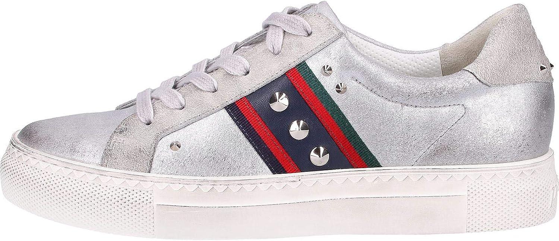 Paul Green 4781 4781-004 Chaussures à lacets Argenté Beige